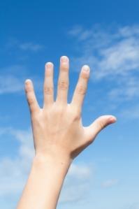 Hand Reach To Sky by samuiblue