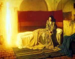Henry_Ossawa_Tanner_-_The_Annunciation [Public Domain]. via WikiCommons