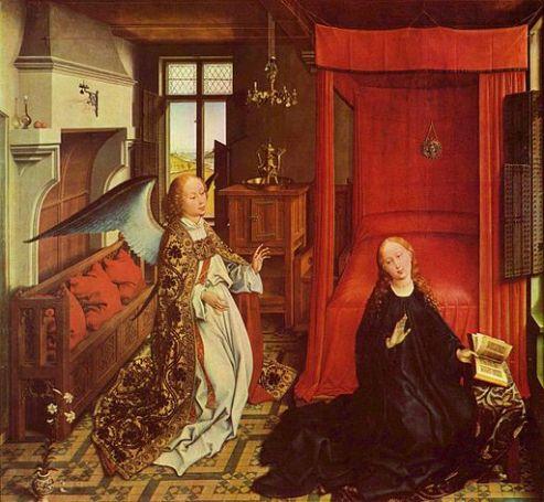 Workshop of Rogier van der Weyden  [Public domain], via Wikimedia Commons
