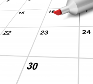 """Blank Calendar Shows Plan Appointment Schedule Or Event"" by Stuart Miles from FreeDigitalPhotos.net"