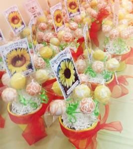 Sonflower Cakepops